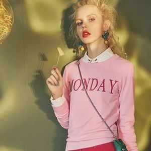 Sweaters - Monday Pullover Pink Sweater